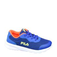 Fila   sneakers blauw, Blauw/geel/oranje