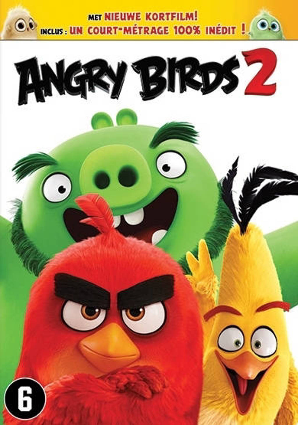Angry birds movie 2 (NL-only) (DVD)