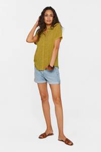 WE Fashion blouse citron, Citron