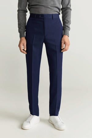 skinny pantalon middenblauw
