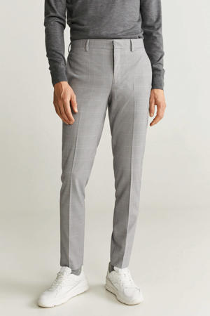 skinny pantalon grijs