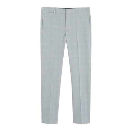Mango Man skinny pantalon grijs