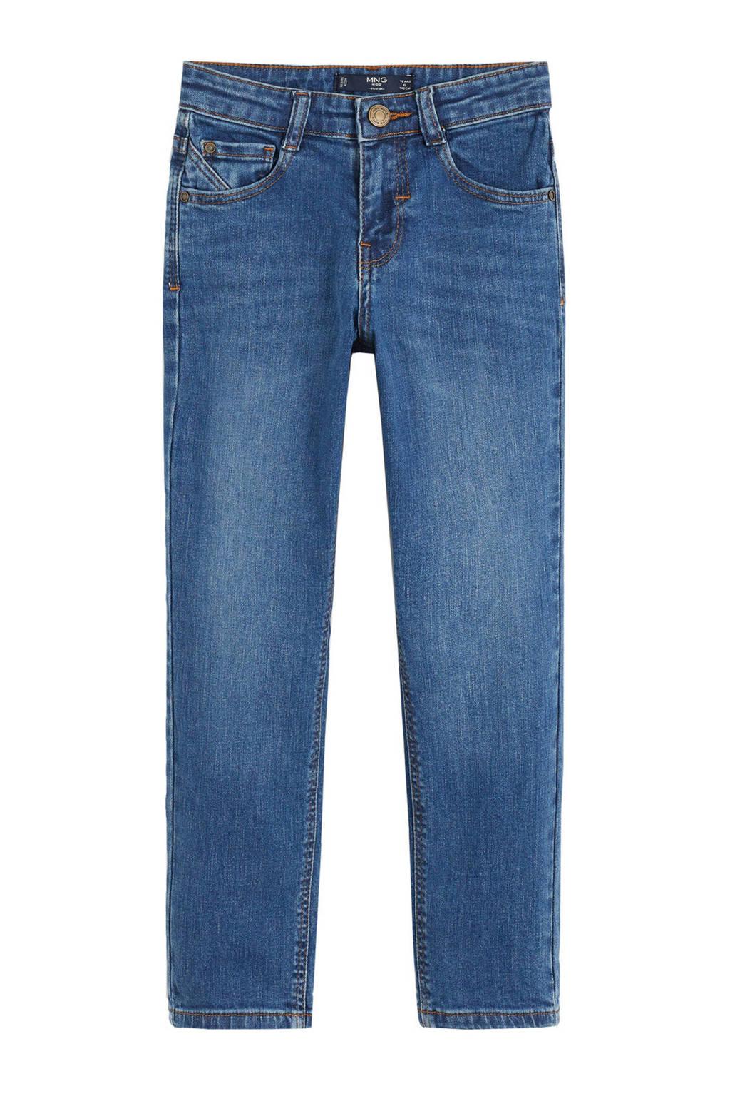 Mango Kids regular fit jeans light denim, Light denim