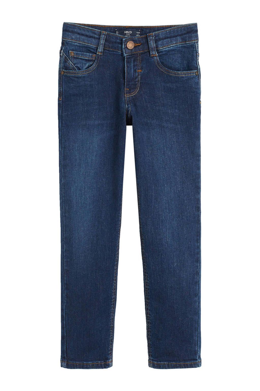 Mango Kids regular fit jeans dark denim, Dark denim
