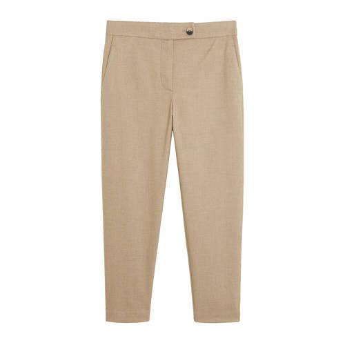 Mango Cropped straight fit pantalon