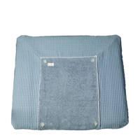 Koeka Bonn wafel aankleedkussenhoes Soft Blue, soft blue