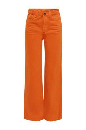 flared broek oranje