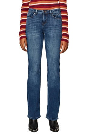 bootcut fit jeans blauw
