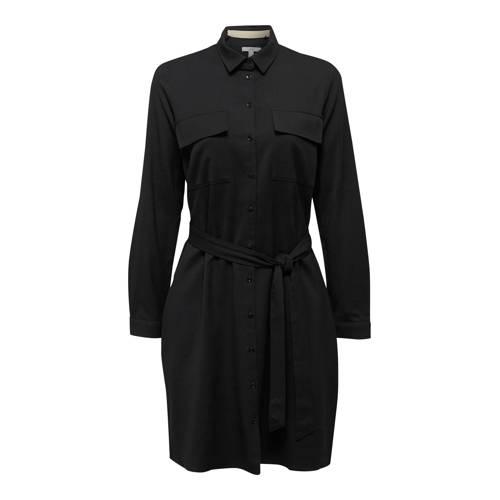 ESPRIT Women Casual jersey jurk zwart