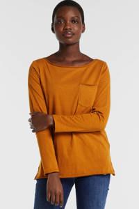 edc Women longsleeve oranje, Oranje