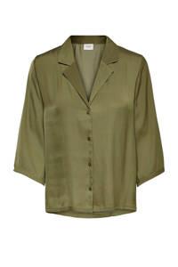 JACQUELINE DE YONG blouse groen, Groen