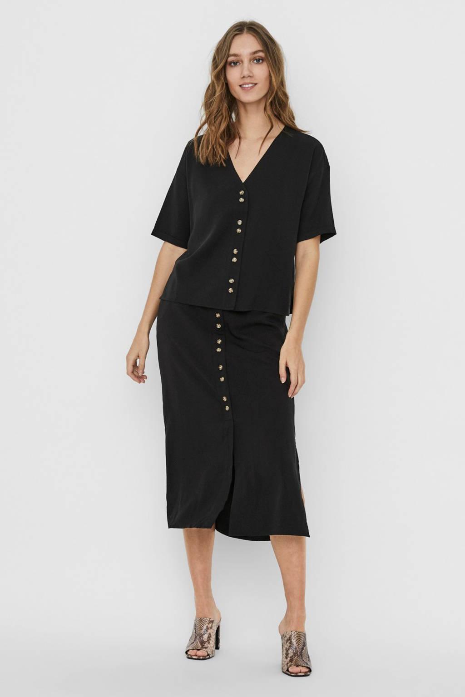 VERO MODA blouse zwart, Zwart