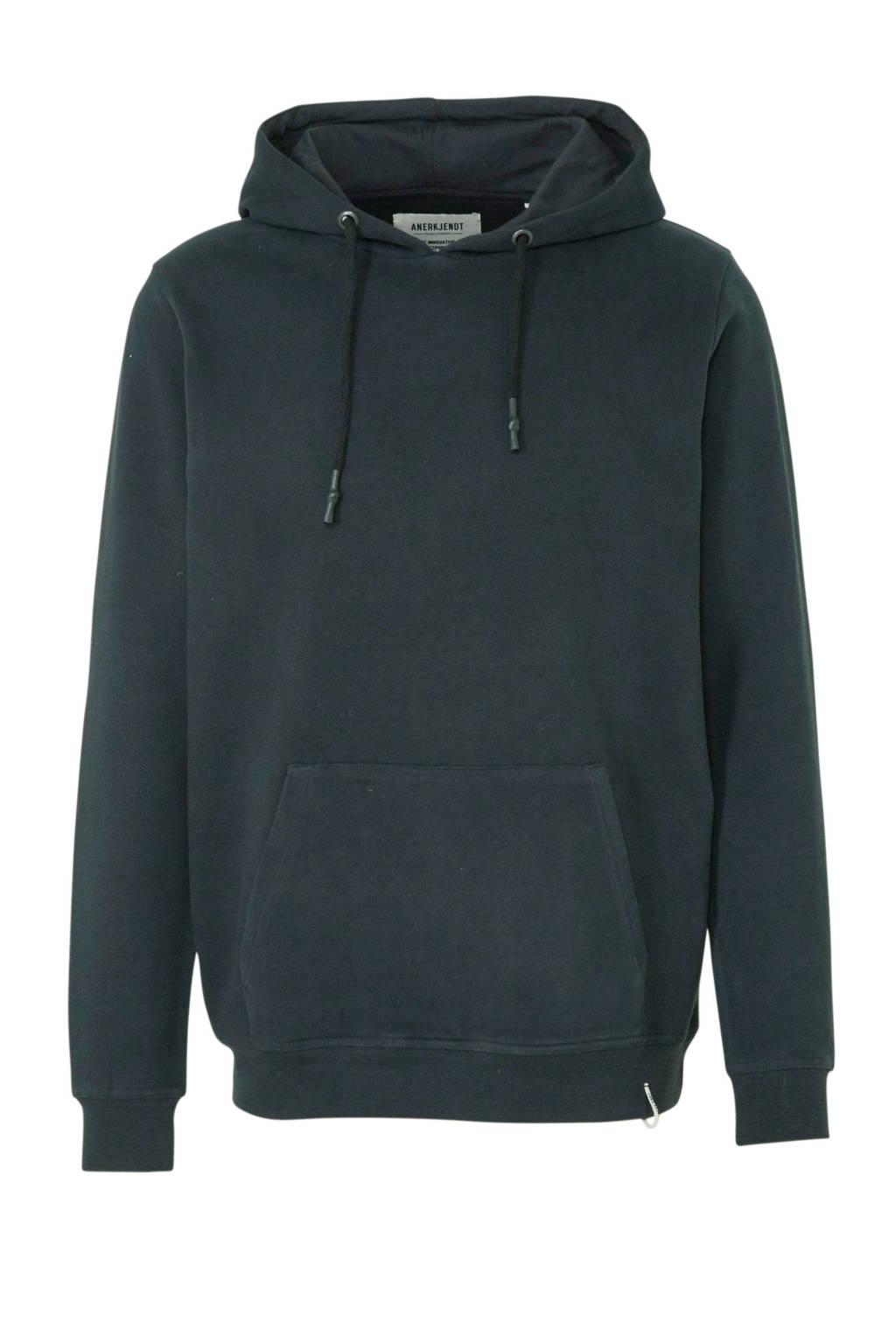 Anerkjendt hoodie zwart, Zwart