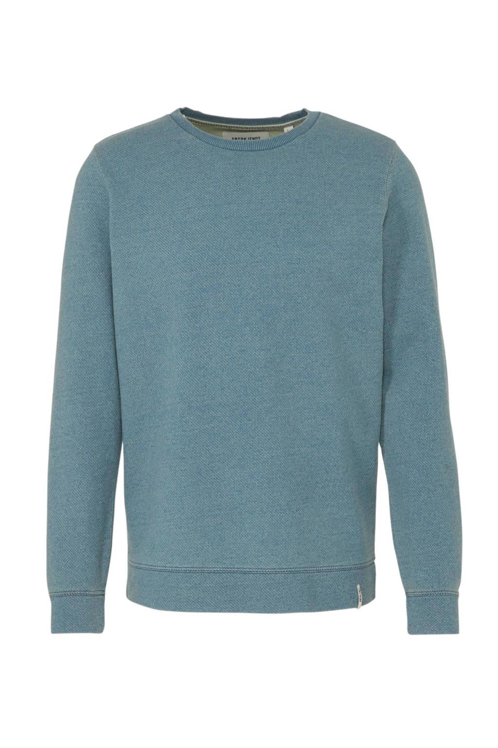 Anerkjendt sweater lichtblauw, Lichtblauw