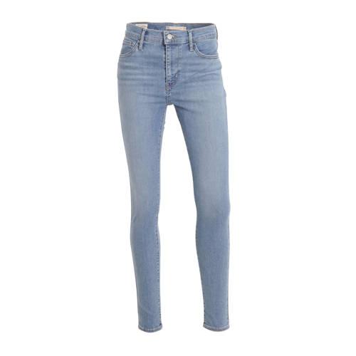 Levi's 720 high waist skinny jeans lichtblauw