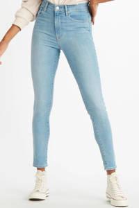 Levi's Mile high waist super skinny jeans lichtblauw, Lichtblauw