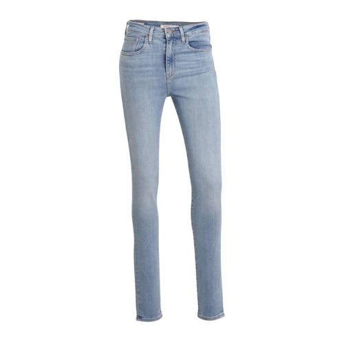 Levi's 721 high waist skinny jeans lichtblauw