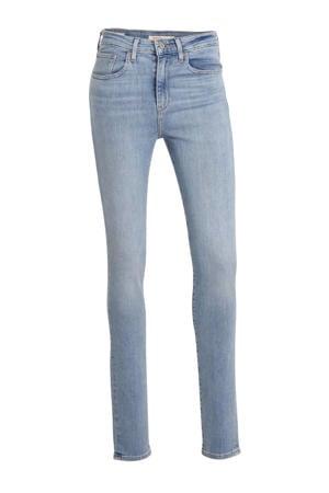 721 high waist skinny jeans lichtblauw