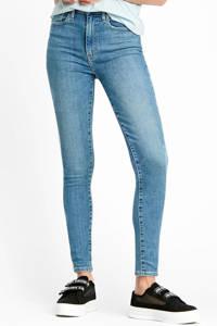 Levi's high waist super skinny jeans Mile blauw, Blauw