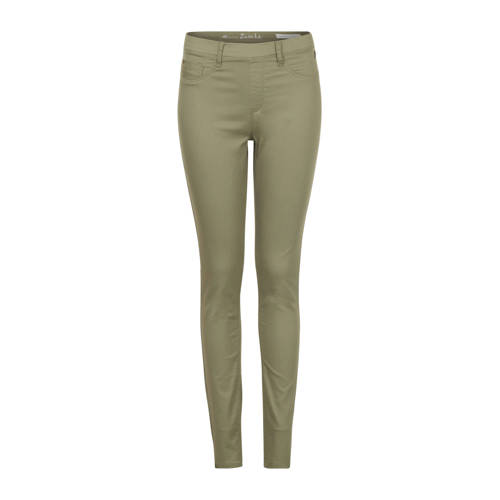 Miss Etam Regulier skinny broek groen