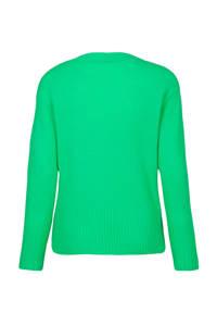 Miss Etam Regulier gebreid vest groen, Groen