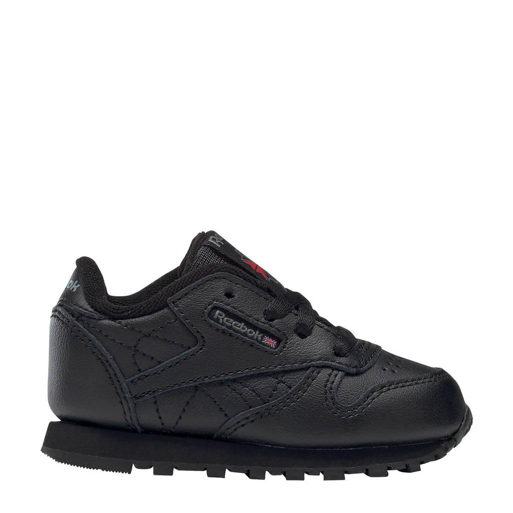 Reebok Classic Leather  sneakers zwart, Zwart