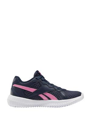 Flexagon Ene 2.0 sportschoenen donkerblauw/roze