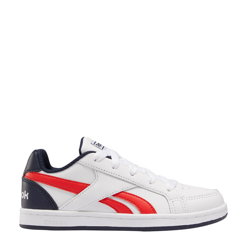 Reebok Classics Royal Prime  sneakers wit/rood/donkerblauw