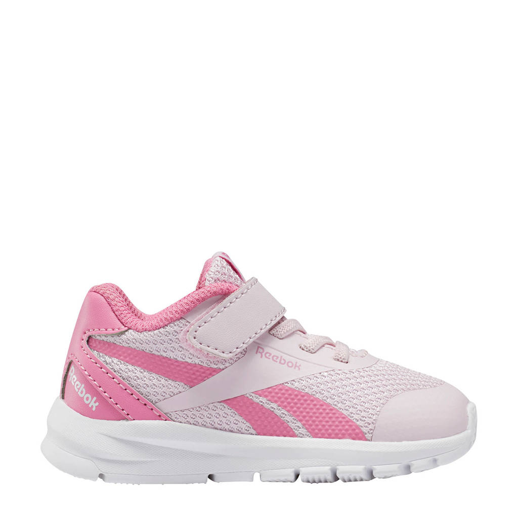 Reebok Rush Runner 2.0 sportschoenen wit/roze, Wit/roze