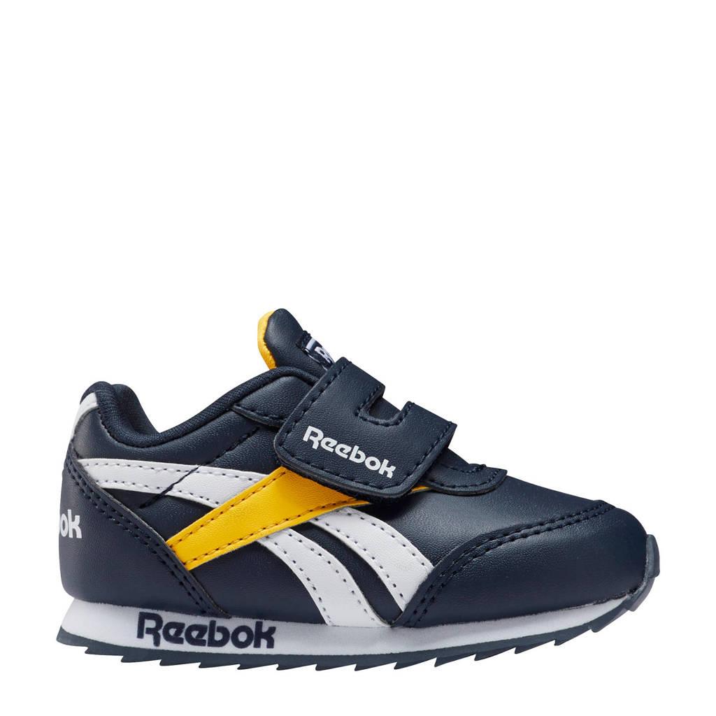 Reebok Classics Royal Classic Jogger sneakers donkerblauw/geel, Donkerblauw/geel