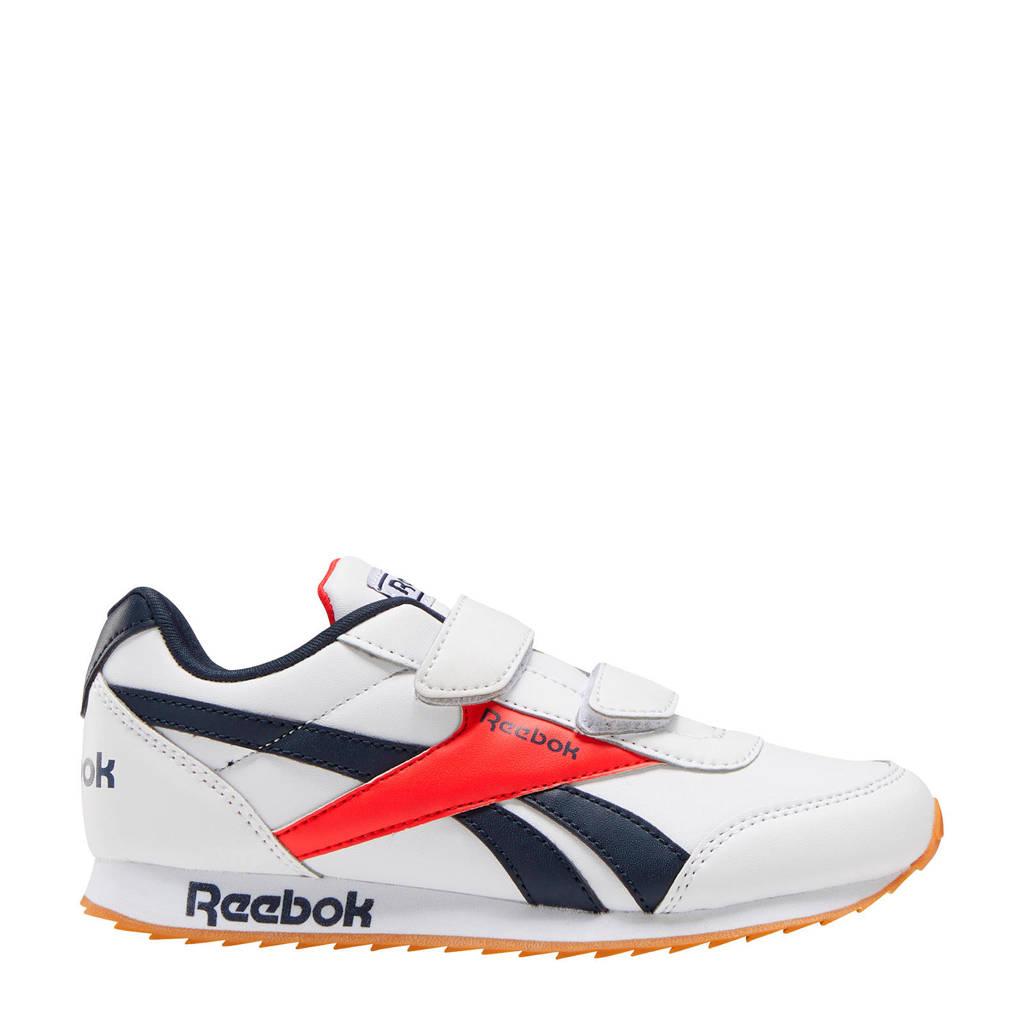 Reebok Classics Royal Cljog  sneakers wit/donkerblauw/rood, Wit/donkerblauw/rood