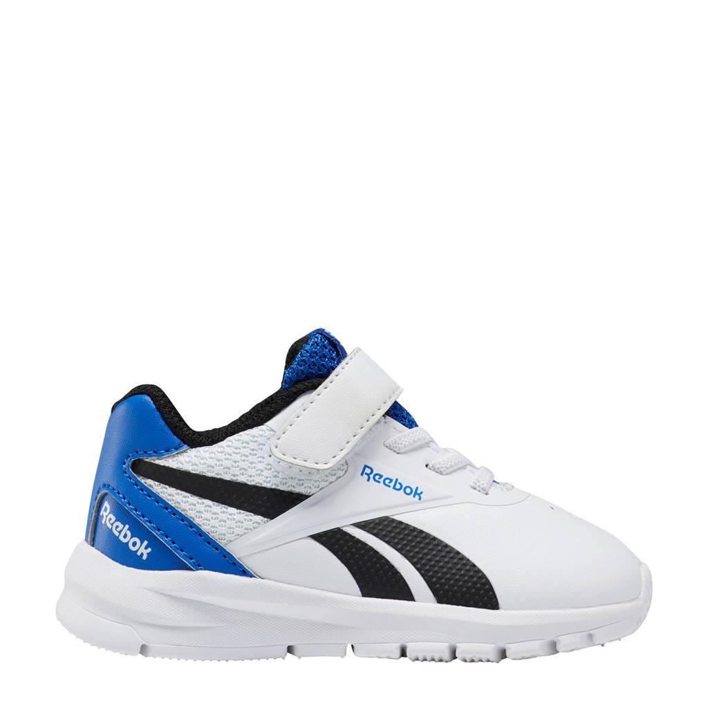 Reebok Training Royal Complete Clean 2.0 sneakers wit/kobaltblauw/zwart, Wit/donkerblauw/zwart