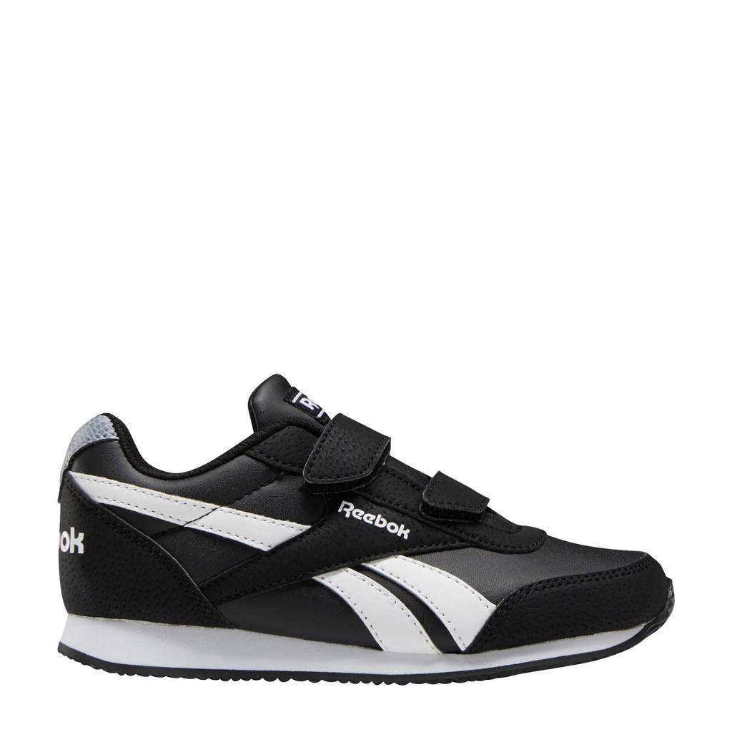 Reebok Royal Cljog  sneakers zwart, Zwart/wit