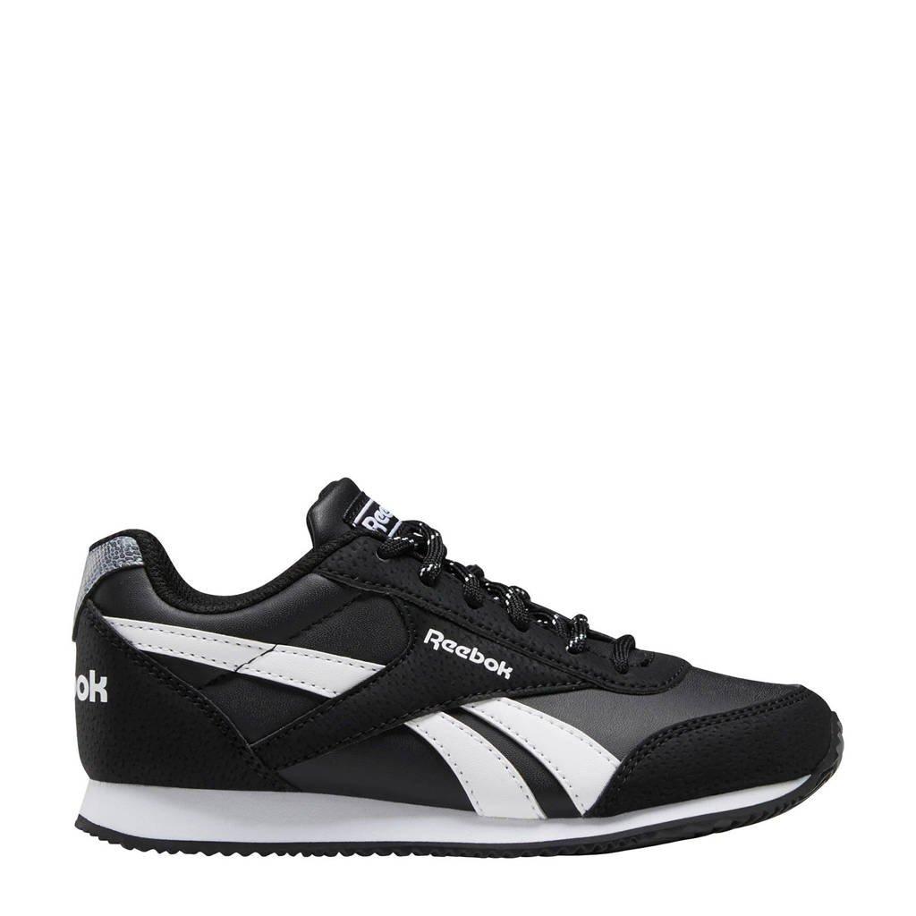 Reebok Royal Cljog  sneakers zwart, Zwart/wit