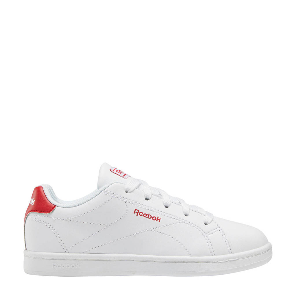 Reebok Royal Complete Clean 2.0 sneakers wit/rood, Wit/rood