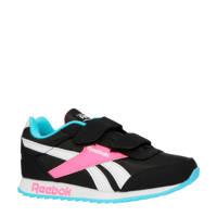 Reebok Classics Royal Cljog 2V sneakers zwart/roze, zwart/roze/wit/blauw