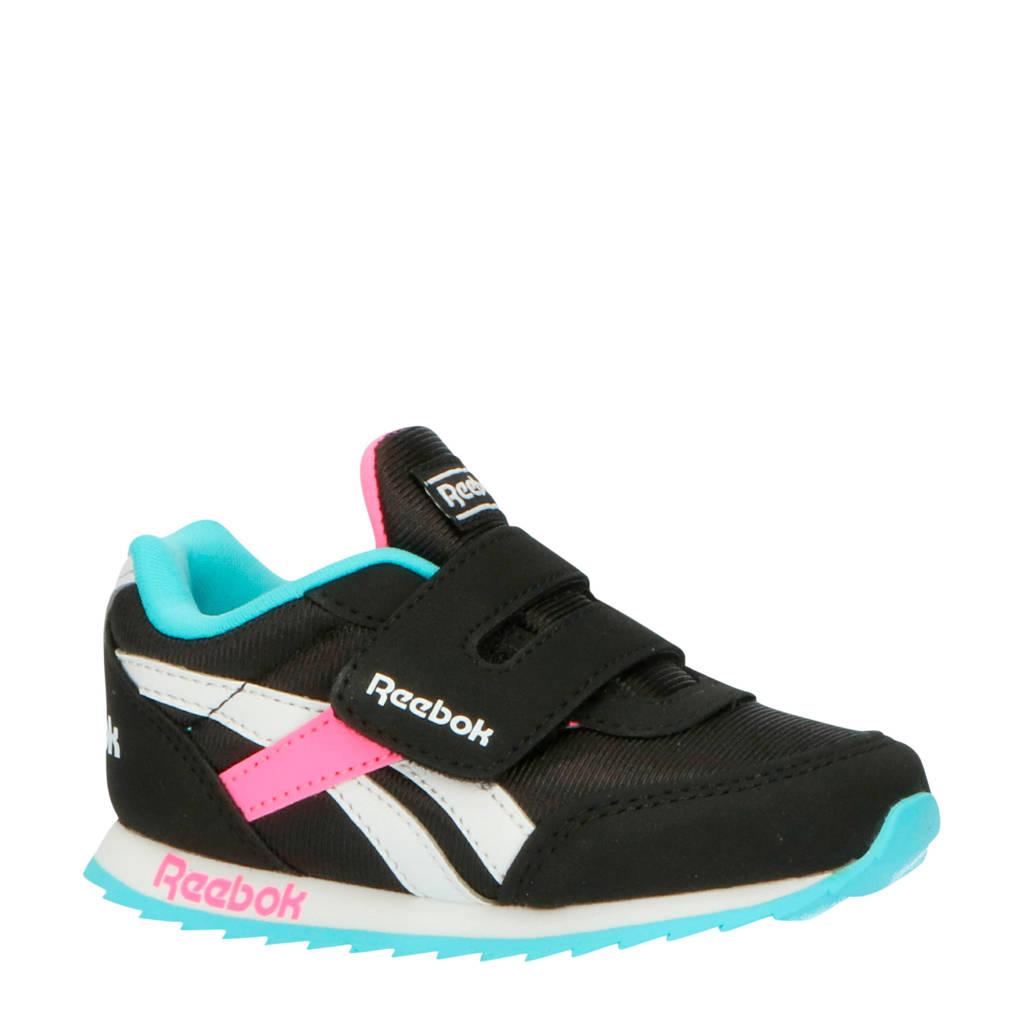 Reebok Classics Royal Cljog KC sneakers zwart/roze, Zwart/roze/wit