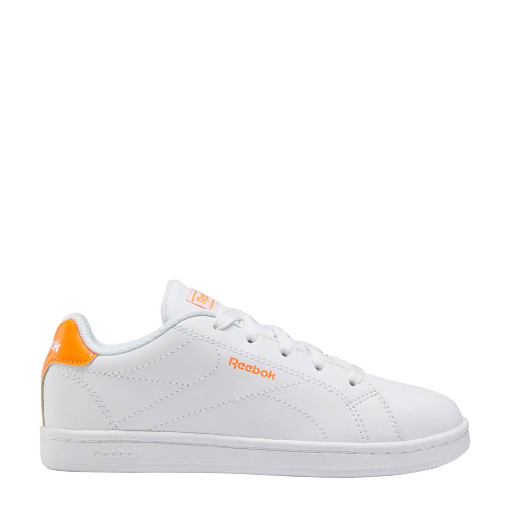 Reebok Classics Royal Complete Alt sneakers wit/oranje, Wit/oranje