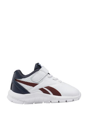 Royal Complete Clean 2.0 sneakers wit/donkerblauw/donkerrood