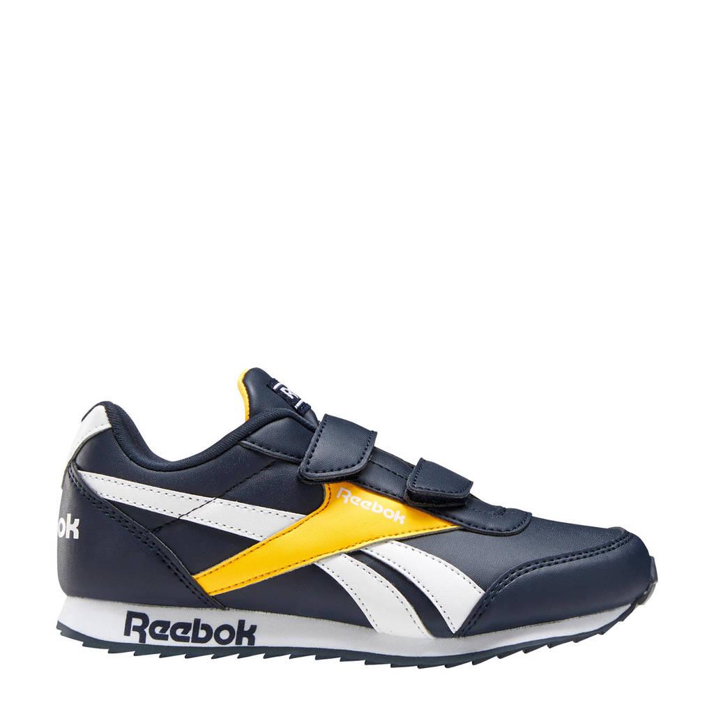 Reebok Classics Royal Cljog  sneakers donkerblauw/geel, Donkerblauw/geel