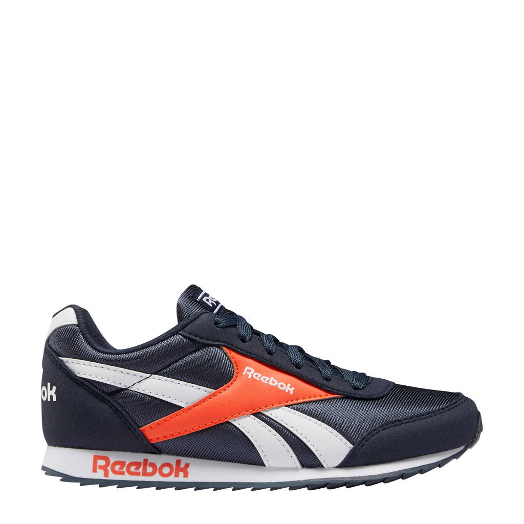 Reebok Classics Royal Cljog  sneakers donkerblauw/oranje, Donkerblauw/oranje