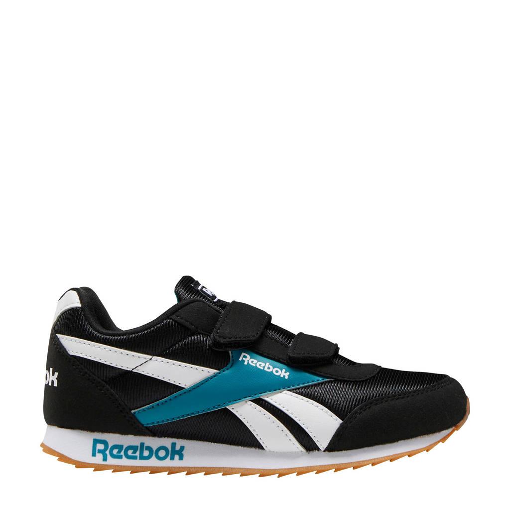 Reebok Classics Royal Cljog  sneakers zwart/blauw, Zwart/blauw