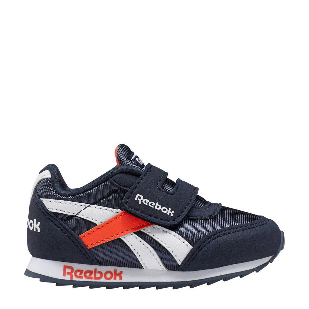 Reebok Royal Cljog  sneakers donkerblauw/oranje, Donkerblauw/oranje
