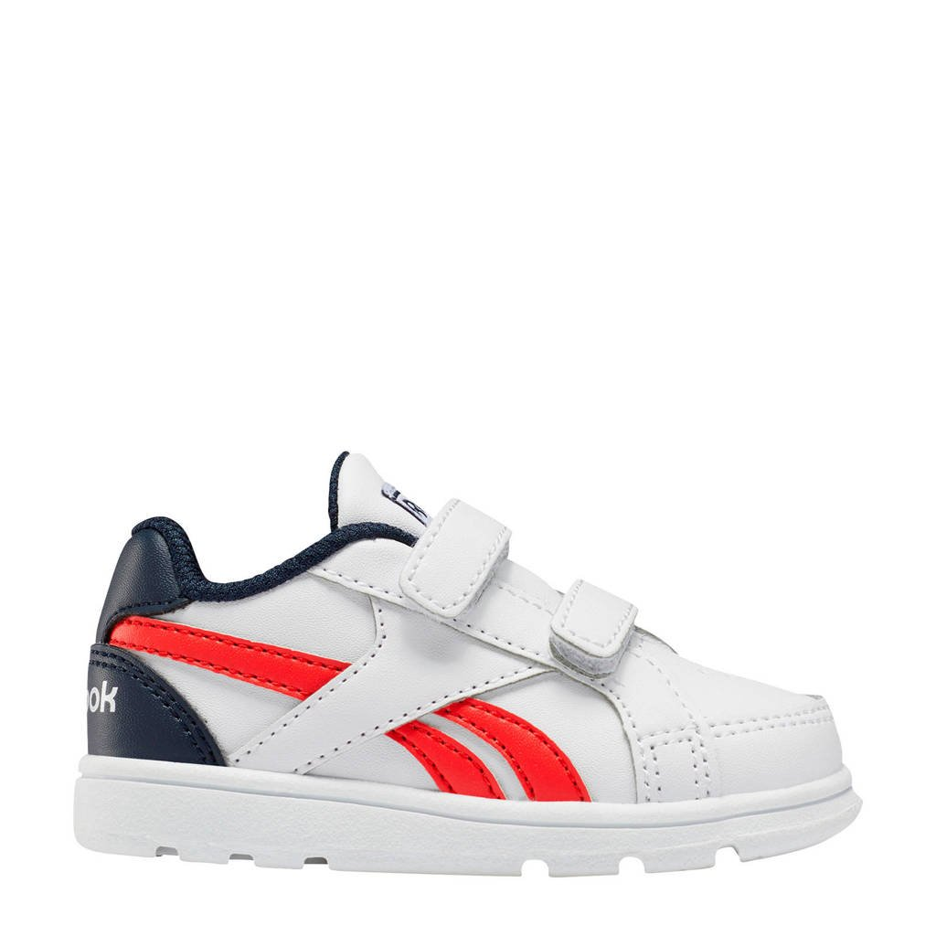Reebok Classics Royal Prime  sneakers wit/rood/donkerblauw, Wit
