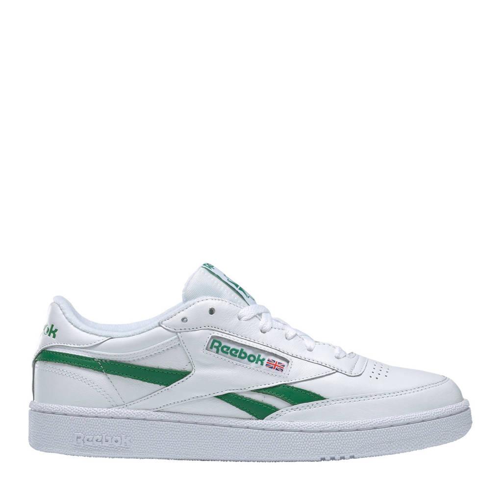 Reebok Classics Club C Revenge sneakers wit/groen, Wit/groen