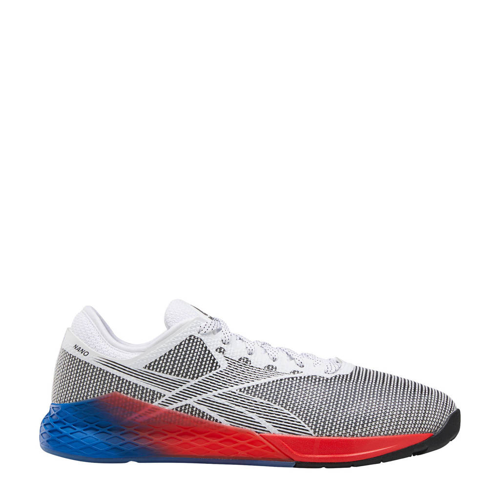 Reebok Training Nano 9.0 sportschoenen grijs/blauw/rood, Grijs/blauw/rood