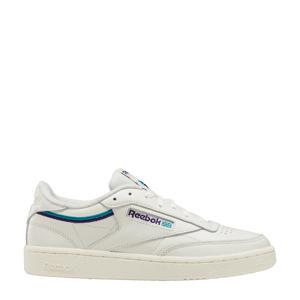 Club C 85  sneakers wit/paars/blauw