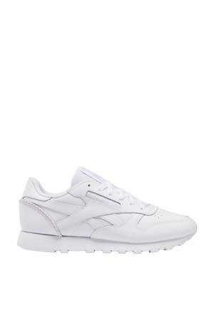 Classic  leren sneakers wit
