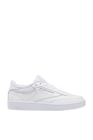 Club C 85  sneakers wit/paars