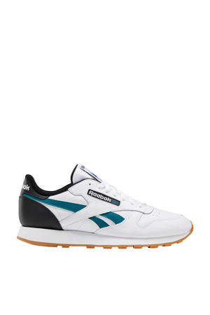 Classic Leather  sneakers wit/blauw/zwart
